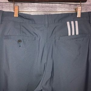 adidas Pants - Adidas ClimaLite 3 Stripe Tech Flat Front Pant 33